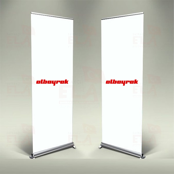 Al Bayrak Banner Roll Up