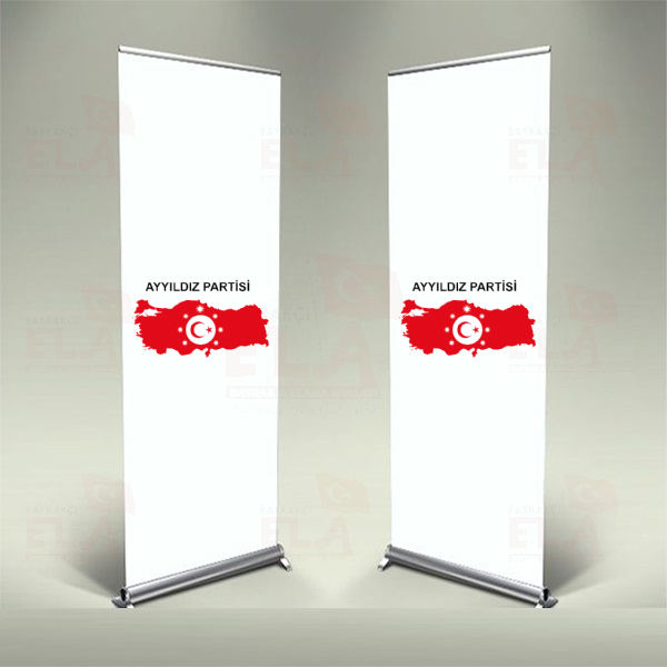 Ayyıldız Partisi Banner Roll Up