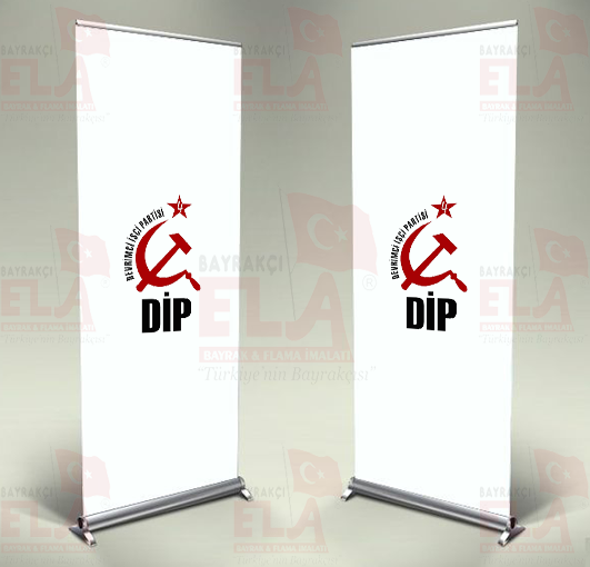 Devrimci İşçi Partisi Banner Roll Up