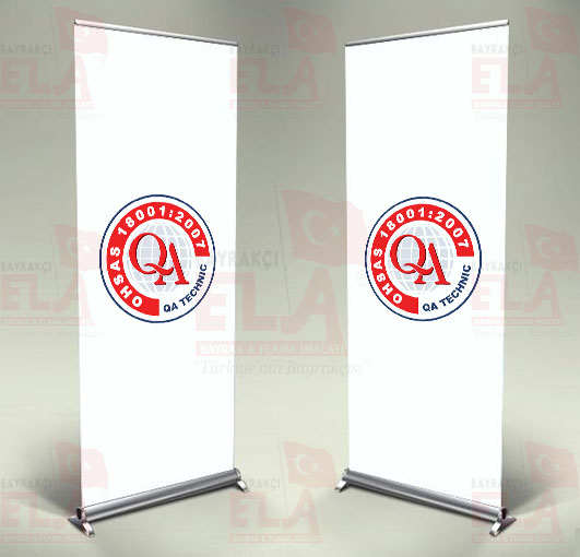 ohsas ıso 18001 Alberk Qa Technıc Banner Roll Up