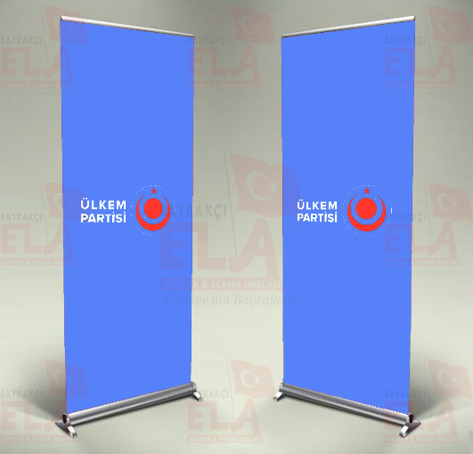 Ülkem Partisi Banner Roll Up